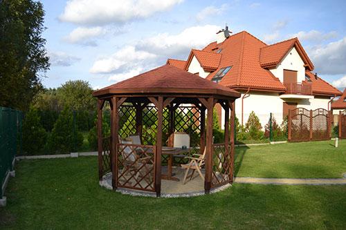 Altany ogrodowe produkowane przez ANDREWEX