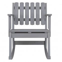 Krzesło bujane jednoosobowe