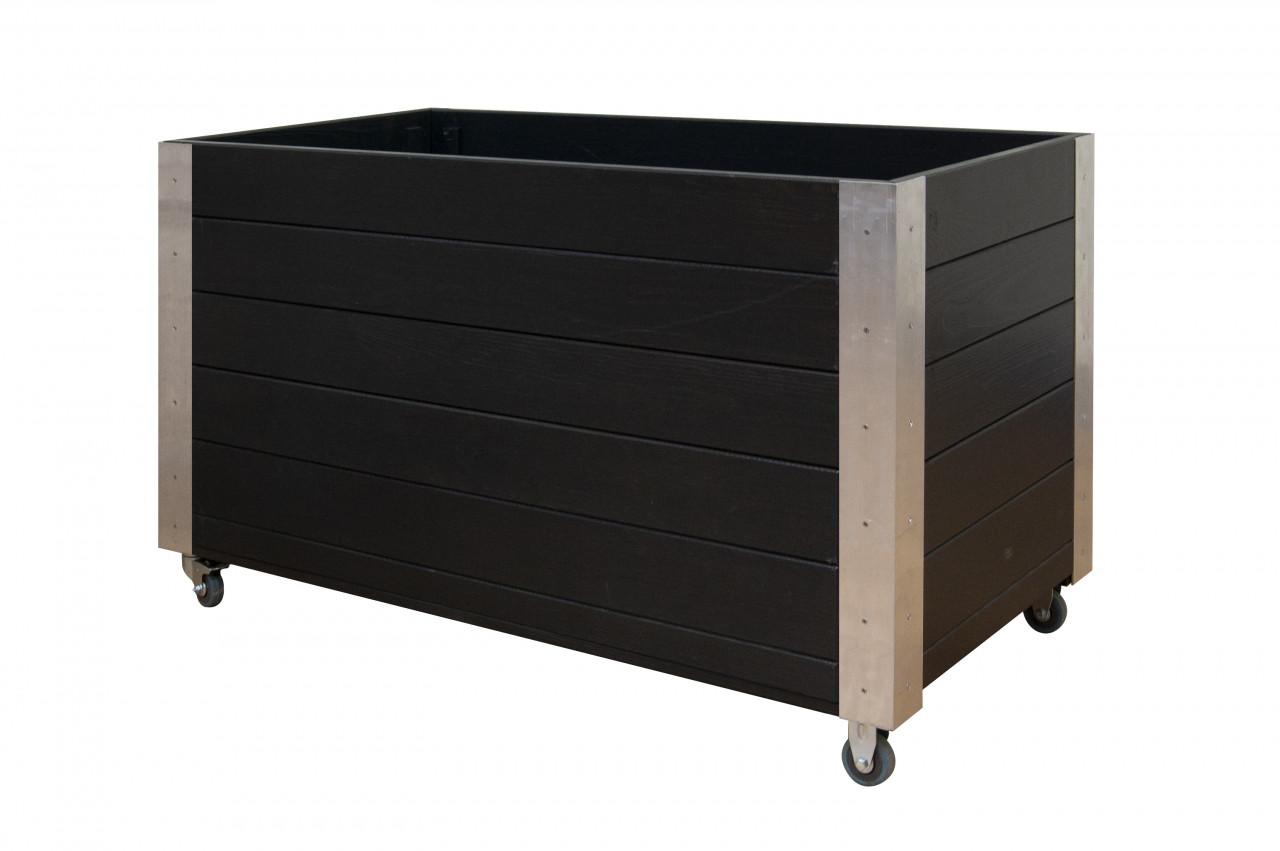 Rozsada na kółkach wykończenie aluminium Antracyt 540 x 1000 x 450 mm