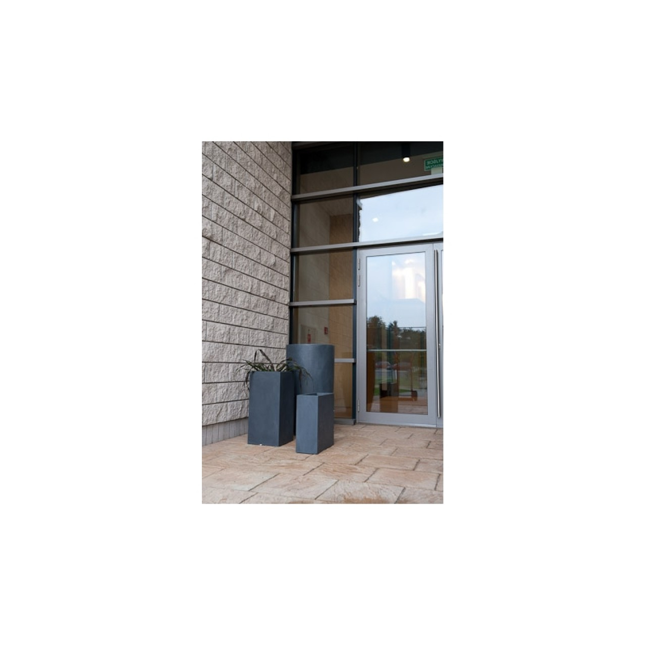 Donica Ecolite kwadrat wysoki 340 x 700 mm 88.007.70 Wyprzedaż