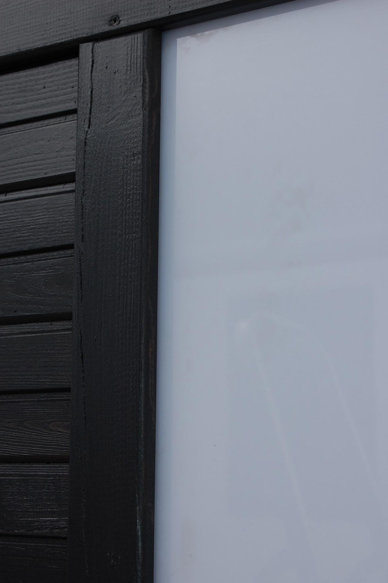 Płot boazeryjny 900 x 1800 mm DUO Antracyt