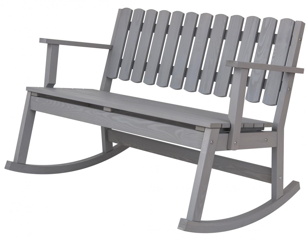 Krzesło bujane dwuosobowe