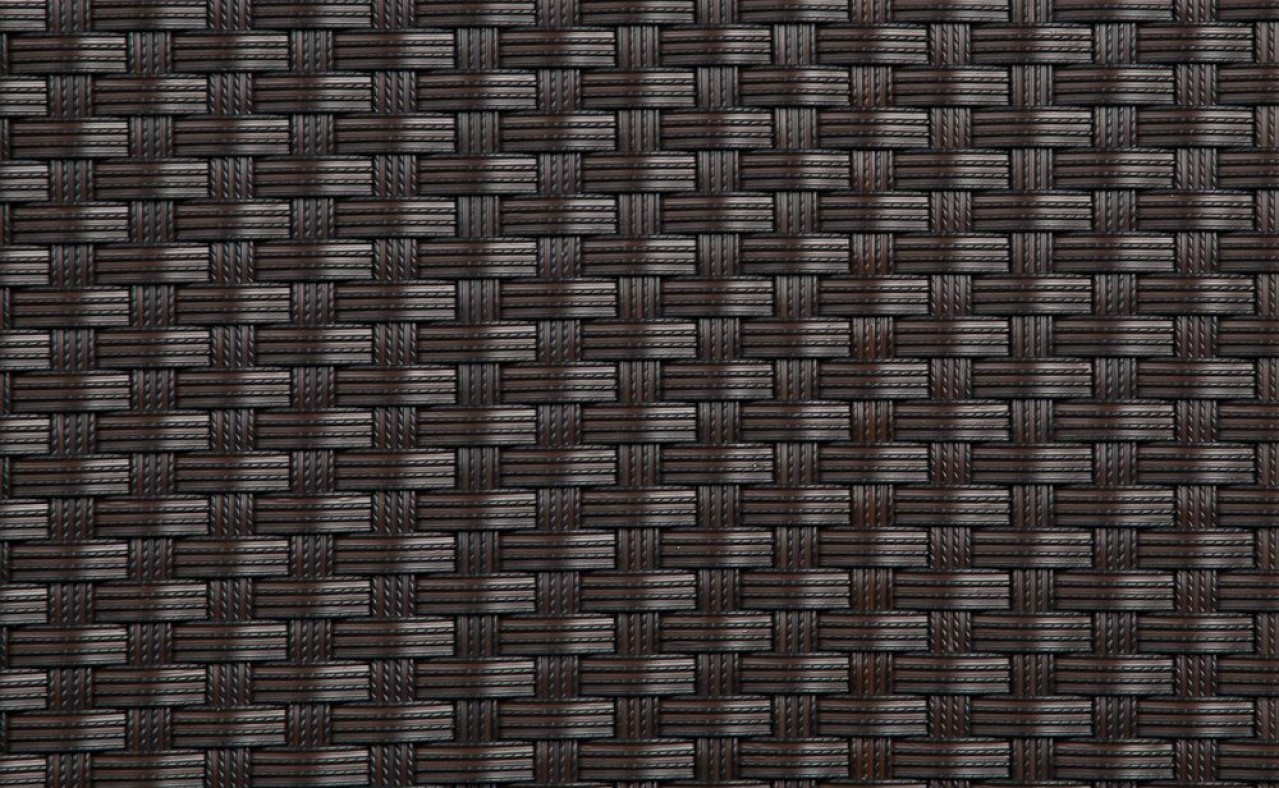 Mata technorattanowa 1000x3000mm ciemna czekolada