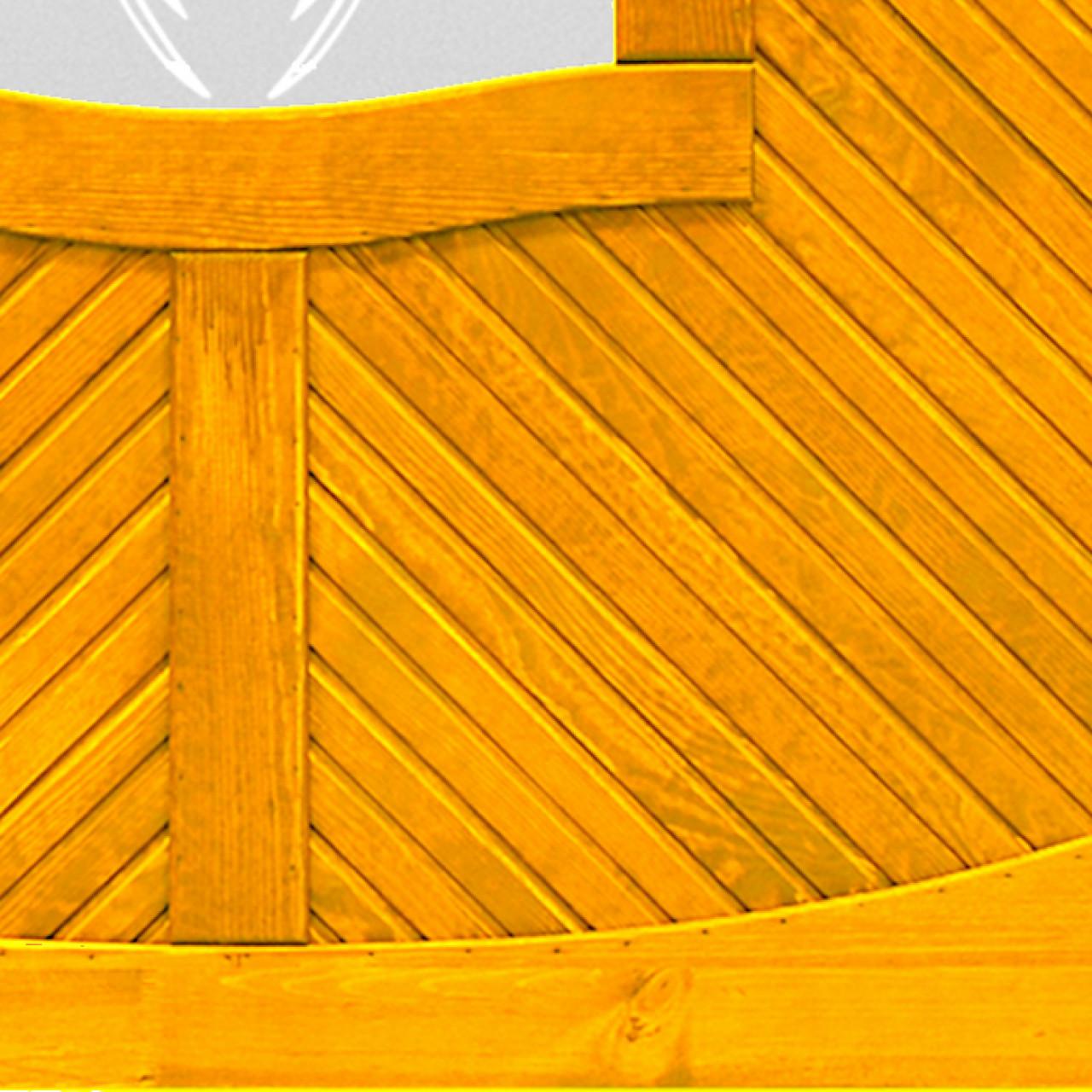 Płot boazeryjny szkło 1200 x 1800 mm LORIENT Pinia