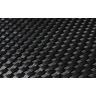 Mata technorattanowa 1500x3000mm czarna RD04_main_photo