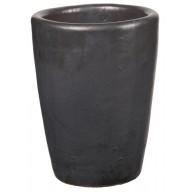 Donica ceramiczna 75.434.44 | Glazed Tall-urn 340 x 440 mm Grafit_main_photo