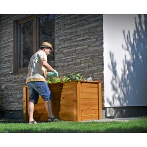 big_image_Rozsada skrzynia drewniana do roślin 1500x780 mm teak