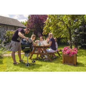 big_image_Stół piknikowy z ławkami 700 x 1480 mm