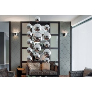 big_image_Metalowa kula 15 x 120 cm 74.006.15  hanging decoballs - chrome