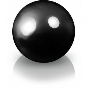 big_image_Ekskluzywna kula dekoracyjna 600 x 600 mm 95.016.60 Fiber decoball black