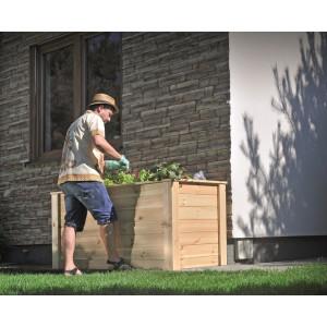 big_image_Rozsada skrzynia drewniana do roślin 1500x780 mm  cream