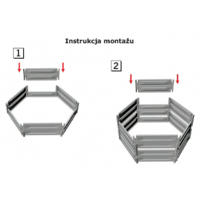 big_image_Kompostownik hexagonal 700 L