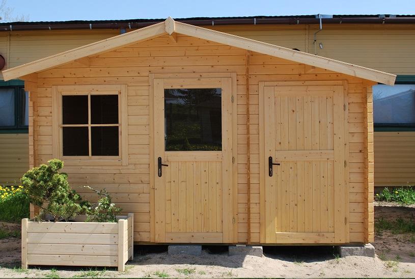 domki ogrodowe salix od frontu