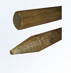 Palisady drewniane i rollbordery
