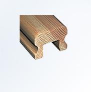 Drewniane poręcze na schody