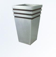 Metalowa donica